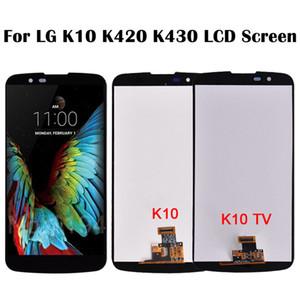 Para LCD LG K10 LCD con pantalla táctil de la Asamblea digitalizador para LG TV K10 K430 K410 TV TV