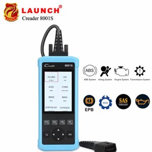 Creader 8001S CR8001S Code Reader Full OBDII Functions support 4 Systems Diagnostics Scan Tool with Oil EPB SAS BMS reset