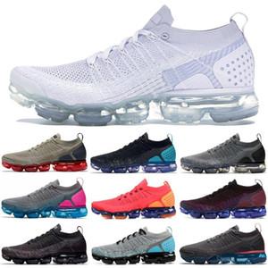 2020 Nachrichten Chaussures Moc 2 Laceless 2.0 Laufschuhe Triple Black Designer Herren Damen Turnschuhe Fly Weiß stricken Kissen Trainer Schuhe