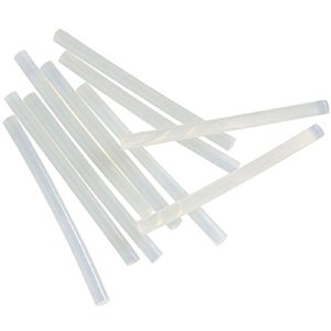 11mmx200mm Hot Melt Glue Sticks Strips Melt Adhesive for Handmade Craft DIY Home Office Project Craftwork Fix Repairs