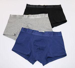 Размер L XL XXL XXXL мужской средней высоты хлопок boyshort мужские трусики нижнее белье мужчины боксер шорты HHJ18011