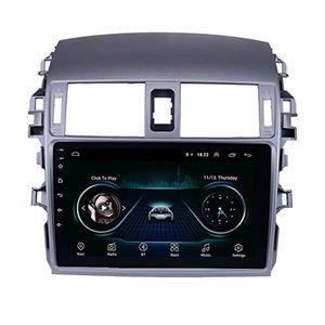 "9"" 9,0 3g WiFi автомобиль видео плеер Android на 2007-2010 годы Toyota Corolla OLD с поддержкой Wi-Fi Bluetooth USB Музыка AUX DAB SWC DVR"