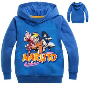 Дети Гоку Аниме Hoodie японского аниме Naruto печати 6 цветов пуловер с капюшоном Толстовка Смешные Прохладный Streetwear для подростков мальчиков 14