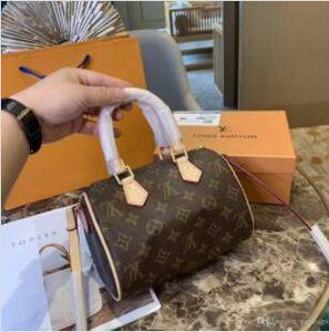 Boston Borse Speedy Gym Bag borsa da viaggio per SizewithShoulder donne della cinghia di grande capienza Specchio borsetta Blocco Bag
