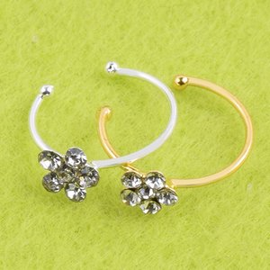 Plum factory direct body piercing jewelry nose rings 925 silver nose stud Thai-inspired punk wholesale spot