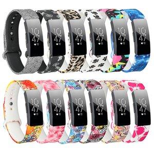 Il cinturino in silicone per Fitbit Inspire HR Flora cinturino da polso colorato per Smart Fitbit Inspire / Inspire HR Accessori Piccolo grande