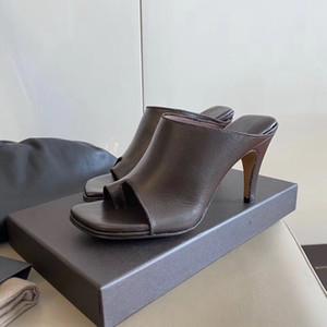 I più nuovi pattini della donna caldi di modo di tacchi alti vestito signora progettista del cuoio genuino tacchi alti pistone libero di trasporto
