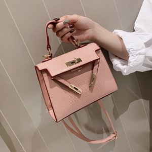 Belle2019 Rui Man Bag Женщина Портативный небольшой квадратный пакет Kylie в западном стиле All-match Tide Single Shoulder