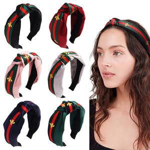 21 Bohemia Style Hairband Top Knot Turban Vintage élastique cheveux tête Bands Hoop Accessoires Bandeau pour coiffure femmes filles Noël B