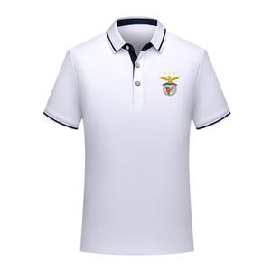 Тайский качество версия Бенфики весной и летом новый хлопок футбол рубашка поло мужская с короткими рукавами лацкане унисекс поло может DIY обычай мужской р