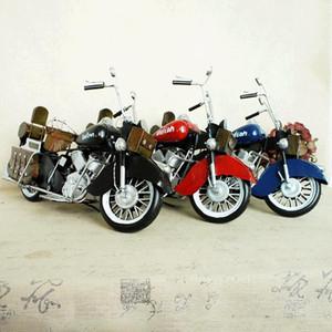 SM Fer Métal classique de moto jouet modèle, style rétro main ornement, pour Noël Cadeaux d'anniversaire d'enfant, collecte, décoration de la maison, SMT5199