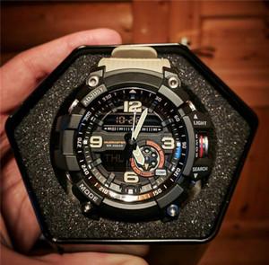 G Estilo Hot Sale LED Digital Analog Relógios de rua Bússola acampamento Militar Esportes Relógios de pulso dos homens 2020 Chegada Nova Moda Mans Relógios
