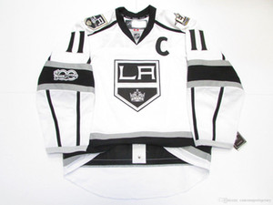 Cheap custom KOPITAR LOS ANGELES KINGS AWAY 100th ANNIVERSARY JERSEY stitch add any number any name Mens Hockey Jersey XS-5XL