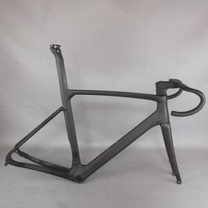 모든 내부 케이블 탄소 섬유 T1000 UD는 BB86 DI2과 기계 모두 호환 디스크 브레이크 도로 자전거 프레임 TT-X23을 짜