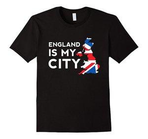 Inglaterra é a minha cidade t-shirt - Meme engraçado