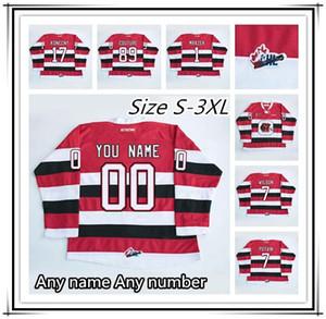 Moda personalizzato CHL Ottawa 89 Logan Couture 17 Travis Konecny 1 Petr Mrázek ricamo del NCAA OHL Hockey su ghiaccio pullover tutto cucito all'ingrosso