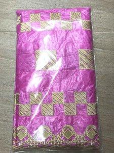 Brode dentelle africain Bazin Riche getzner 2020 guiné brocado Bazin tecido tecido Riche panela 7yard / lotHLB132-