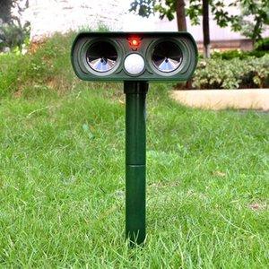 2PCS Solar Repelente Cat Repeller Scarer Dupla Ultra Supplies Dissuasão Garden Chaser animal Outro Jardim