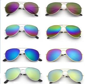2019 새로운 선글라스 방사선 보호 UV400 골드 프레임 실버 프레임 unisex 선글라스 WCW005