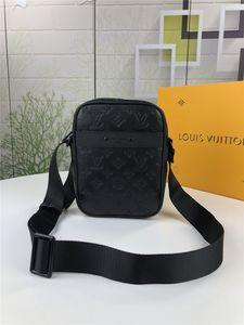 Schwarz Berühmte Marken-Mann-Beutel-Aktenkoffer Beiläufiges Geschäfts-echtes Leder-Männer Messenger Bag Vintage-Männer Umhängetasche Tasche Mann Wallets 43681