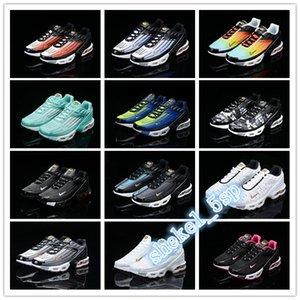 Air Men Women Mercurial TN Max Plus 3 Plus III 3 Tn Triple Black White Running Shoes Plus shoe Mens maxes Trainers Basketball Sneakers