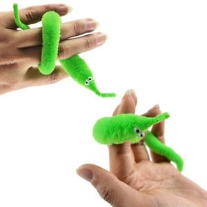 1 unid Magia Twisty gusano Wiggle moviendo Sea Horse niños truco juguete Caterpillar Magia Gusano Twisty juguetes rellenos de peluche de juguete de animales