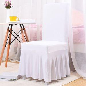 Полиэстер Складной стул крышки Плоский скольжению Охватывает Свадеб зал Свадьбы Банкетный Складной стул отель стеклообоев