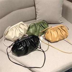 2019 semplice spalla di nuovo stile Messenger Bag di stile occidentale singola di piccola borsa delle donne e alla moda cloud