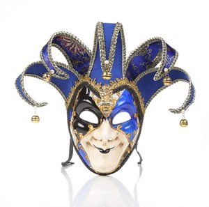 2019 New Holiday Party Christmas Fancy Dress Party Venice Italy Full Face Halloween Mask Free Shipping