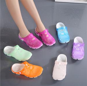 Горячая новая одежда мужские сандалии летние тапочки пляжные сандалии половина перетаскивания мужская домашняя обувь 6025