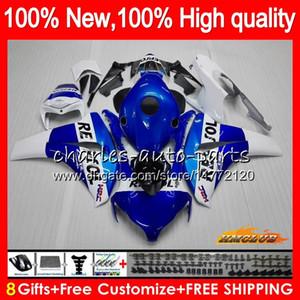 Repsol cuerpo azul para Honda CBR1000RR CBR 1000 RR CC 1000CC 79HC.20 CBR1000 RR CBR1000RR 08 09 10 11 2008 2009 2010 2011 carenados OEM Kit