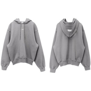 Mens High Quality Hoodies Famous Men Women Couples Casual Pullover Sweatshirt Mens Hoodie gray size S-XL