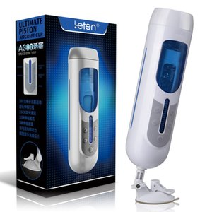Leten Masturbator Massager Modes Piston 5 10 Thrusting Rechargeble Ultimate Electric Automatic Male A380 Y190713 Trainer Speeds Cup Bkevd