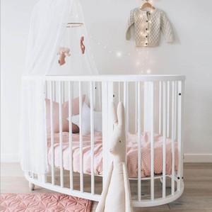 متعدد الوظائف الطفل الأسرة الإضافية سرير الخشب الصلب السرير جولة متعدد الوظائف الربط الملك سرير BB التوأم السرير الأوسط