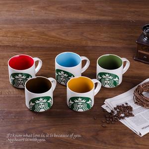 Kundenspezifische Namensbecher 11 Unzen 330ml Keramik Weiß Klassische Kaffeetasse Customized kühler Entwurfs-Tee-Becher Kreatives Drucken auf benutzerdefinierten Logo