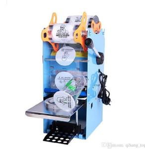 Manuel Kupası Yapıştırma Makinesi 90 / 95mm 220 V Kupası Mühürleyen Kahve / Kabarcık Çay Sızdırmazlık Makinesi