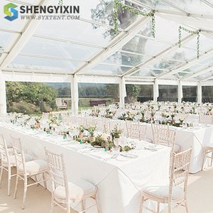 Glass a-frame tent outdoor event wedding high quality good price for sale TUV CE