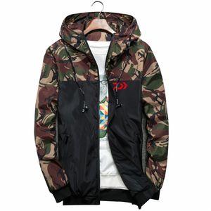 Одежда для рыбалки Quick Dry Одежда для рыбалки Спорт на открытом воздухе Dawa Fishing Shirts Мужские дышащие камуфляжные куртки