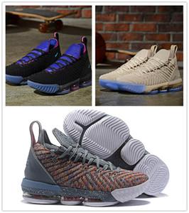 Горячие продажи L16 черный фиолетовый бежевый мужчины баскетбол обувь белый чистая платина мужские дизайнер тренеры спортивные кроссовки размер 7-12 с коробкой