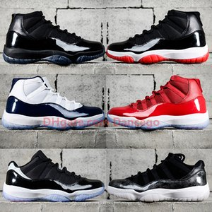 New Jumpman 11 11s basketball shoes Bred 2019 Concord Cap and Gown Gamma Legned Blue Low Snake Skin Win Like 82 96 sneakers