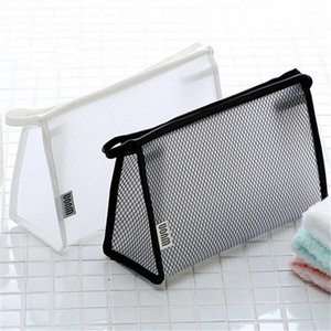 2018 New PVC Transparent Cosmetic Bag Women Waterproof Travel Make up Toiletry Bags Makeup Organizer Case