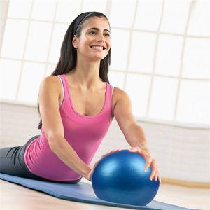 25cm Sports Yoga Balls Bola Pilates Fitness Gym Fitball Exercise Pilates Workout Massage Ball
