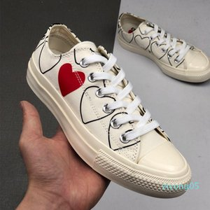 1970 Play shoe chuck 70 all star chaussures Canvas Jointly Big With Eyes Heart Beige Black designer casual Skateboard Sneakers 35-44 05z