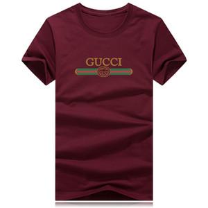 Mode sommer kurz t-shirt männer markenkleidung baumwolle bequeme männliche t-shirt druck t-shirt männer kleidung plus size 9 farben