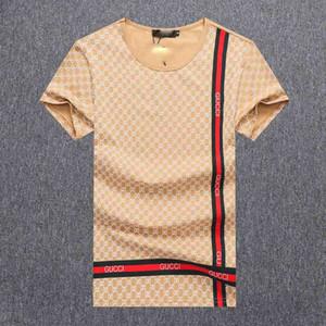dgTrendy Respirant Design T-shirt de coton de grande taille de luxe Méduse T-shirt Lettre d'été Conception Hip Hop shirt à manches courtes T-shirt # DD