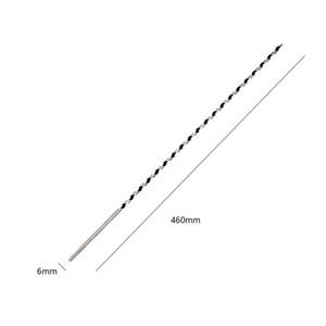 Freeshipping 7pc / Seti 460mm Yüksek Karbon Çelik Keskin Twist Drill Bit Auger Uçları Elektrikli Matkap Ağaç Araçlar 6/8/10/1 için