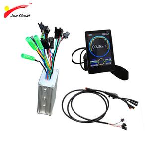 36V 350W 500W Electric Bike kit LCD LED Display Ebike Controller Set Waterproof Cable Bicicleta Electrica parts ebike Motor