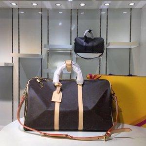 Keepall 45 50 55 marque Hot Sacs de voyage pour les vrais hommes en cuir femmes Top qualité sac à bandoulière pour dames sacs à bandoulière Man 5 colorscb74 #