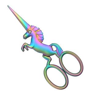 DHL Unicorn Nakış Makas, Needlework, Çapraz Stitch, Nakış, Dikiş, Kapitone için Paslanmaz Çelik 4.5inch Sevimli Snips