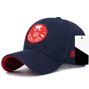 New Aegis Agent bordou o Hip Hop moda Caps chapéu Universal das mulheres dos homens e lazer ao ar livre Esportes chapéus